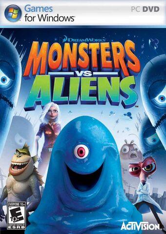 File:Monsters Vs Aliens for PC.jpg