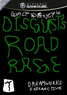 Disgust's Road Rage for Nintendo GameCube