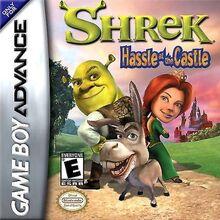 Shrek Hastle In The Castle for Nintendo Gameboy Advance