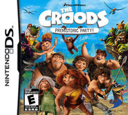 The Croods Prehistoric Party for Nintendo DS