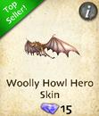 Woolly Howl Hero Skin