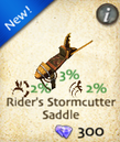 Rider's Stormcutter Saddle
