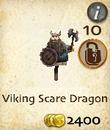 Viking Scare Dragon
