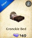 Gronckle Bed