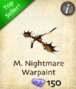 M. Nightmare Warpaint