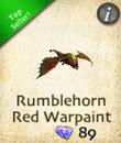 Rumblehorn Red Warpaint