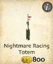 Nightmare Racing Totem