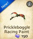 Prickleboggle Racing Paint