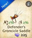 Defender's Groncicle Saddle