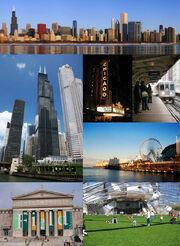 Chicago montage