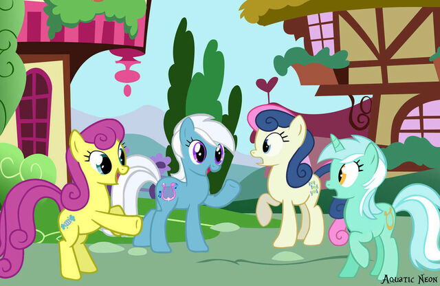 File:Lyra-and-Bon-Bon-and-their-ancestors-my-little-pony-friendship-is-magic-33900976-1109-721.jpg