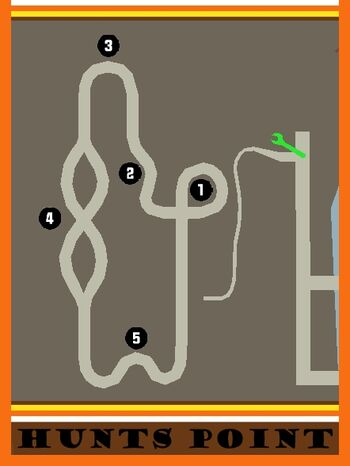 Hunts Point Circuit Map