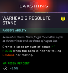 Resolute stand gear