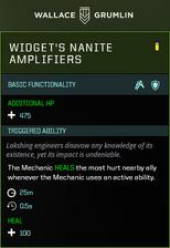 Widget Nanite