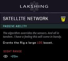 Satellite network gear
