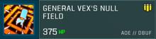 Vex Body Slot