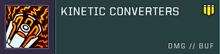 Kinetic converters title