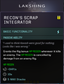 Recon Offensive Slot Gearbox