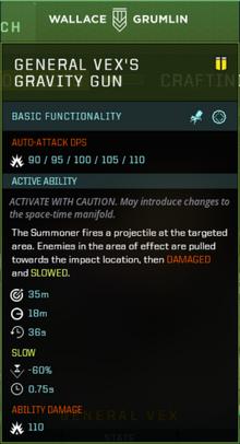 Vex Weapon Slot Gearbox