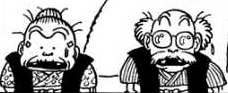 Momotaro's grandparents manga