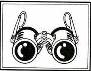 See thru glasses