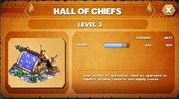 Hall of chief