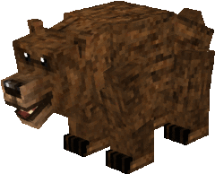 Display Grizzly Bear