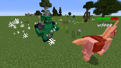Ogre attacks unicorn
