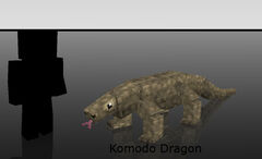 Mo Creatures Komodo Dragon