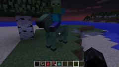 Zombie on horsemob