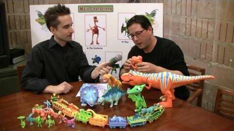 New Dinosaur Train Toys!