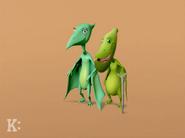 Grandma and Grandpa Pteranodon