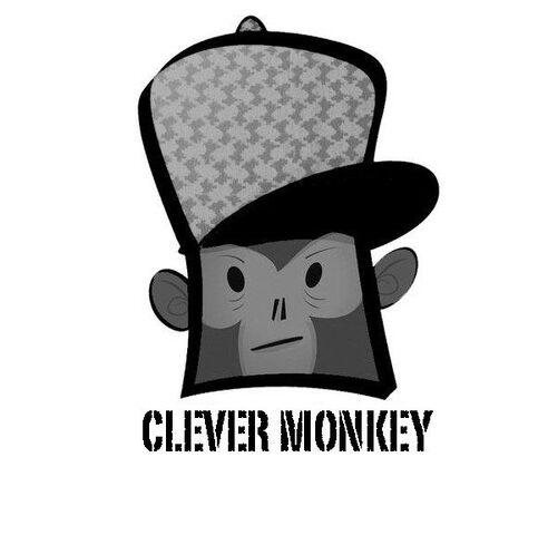 File:Clever Monkey logo.jpg