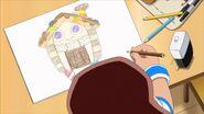 Chocolate House Drawing