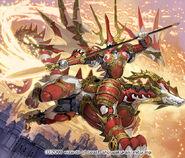 Jack Raidou, Battle Dragon artwork