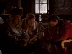 Robert Fraser Maggie MacKenzie Diefenbaker Benton Fraser Closet Hunting Season