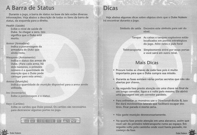 File:DK 3D Tectoy manual - pages 12 and 13 (sega-brasil).jpg