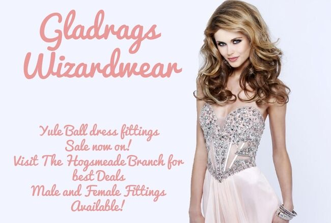 Gladrags Poster