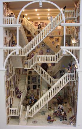 Hogwarts stairs Sixth