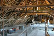 Castle attic