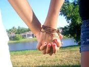 Hand and clove