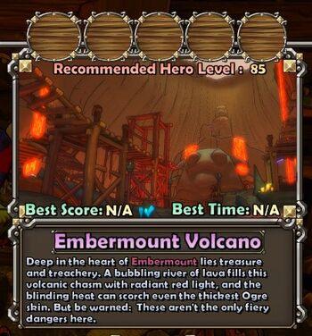 Embermount Volcano summary