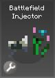 Item d battlefield injector grey