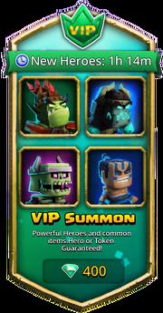 VIP Portal unlocked