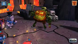 Pumpkin Furnace on Gold Island