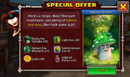 Rocky the Shiitake special offer