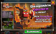 Dragonkin Squinch skin event