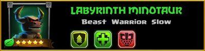 Profile Labyrinth Minotaur