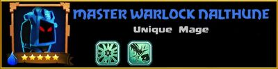Profile Master Warlock Nalthune