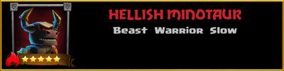 Profile Hellish Minotaur